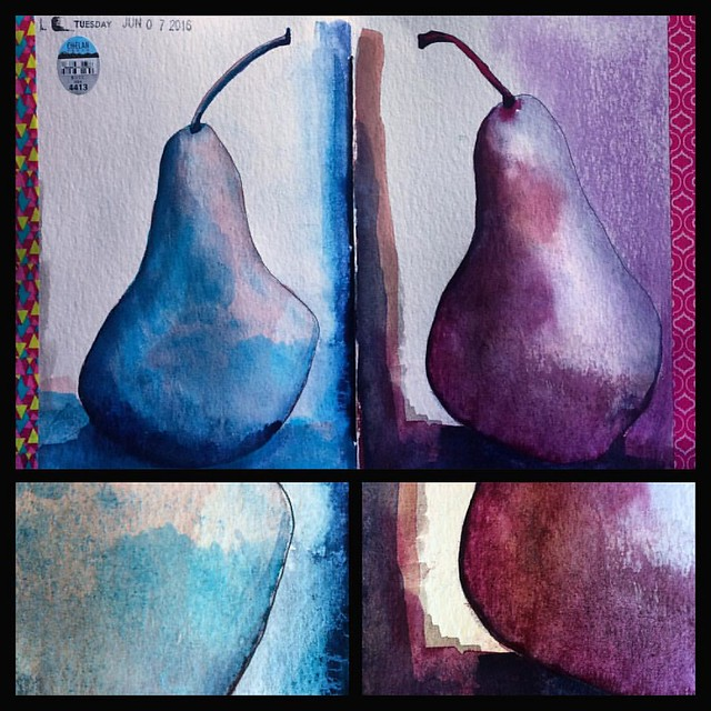 Pears #gouache #painting #paintings #gouache #art #artjournals #paintsketch #sketchbooks #mgraham
