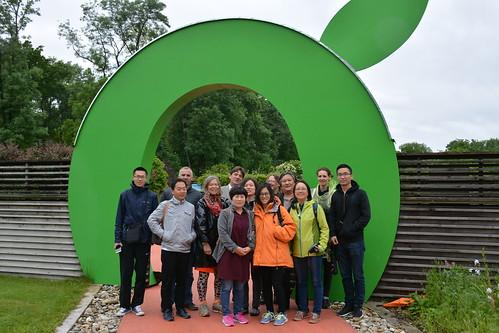 Chinesische Delegation in der Oststeiermark