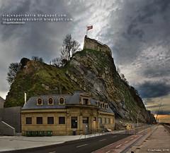 El monte Urgull (Donosti, Gipuzkoa)