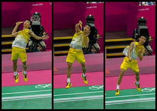Badminton smash