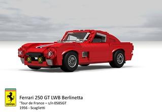 Ferrari 250 GT LWB Berlinetta 'Tour de France' (Scaglietti - 1956)