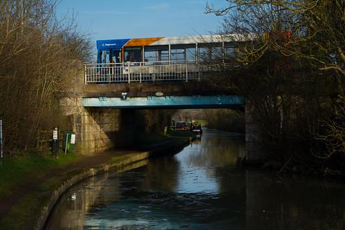 20141231-74_Braunston - Oxford Canal - Bridge - Stagecoach Bus