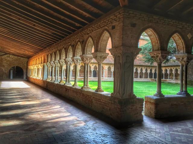 Claustro de la abadía de Moissac (Midi-Pyrénées)