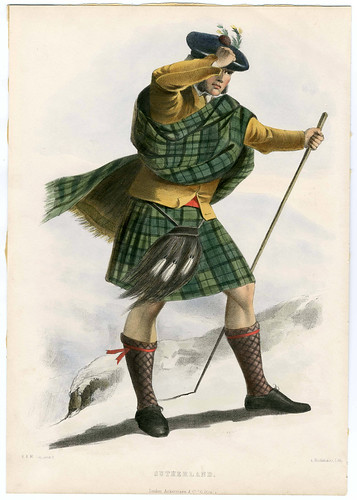 015-Clans_of_the_Scottish_Highlands_1847_Plate_052-The Metropolitan Museum of Art-Thomas J. Watson Library