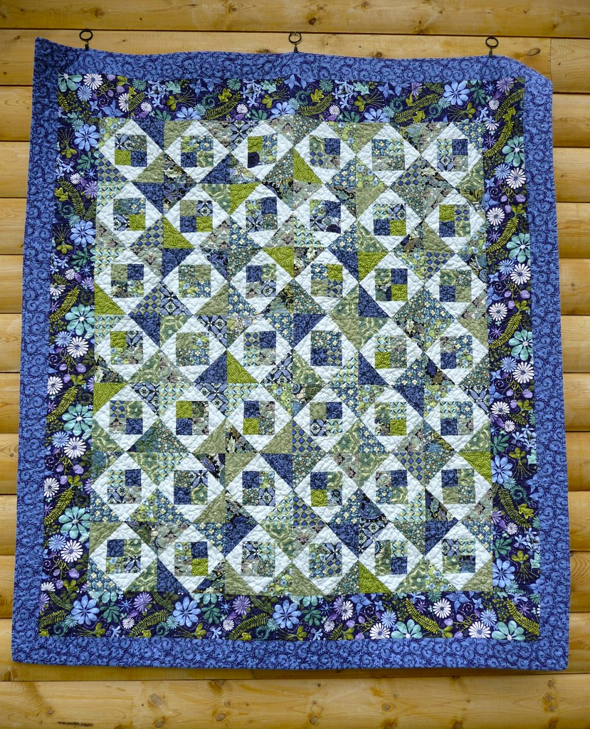 Blue Pool Quilt