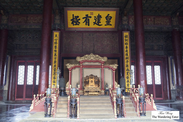 Hall of Preserving Harmony(Baohe Dian) at Forbidden City, Beijing, China