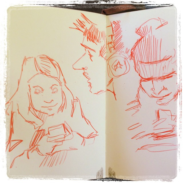 #train #urbansketch #pencil