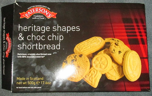 Paterson's Shortbread Packet