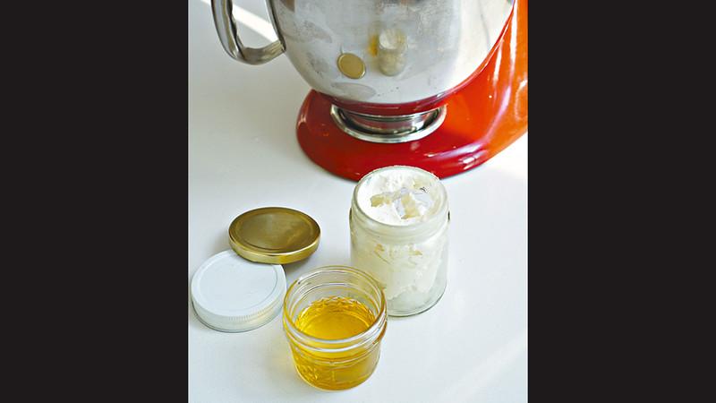 自家製潤膚膏。圖片來源:果籽