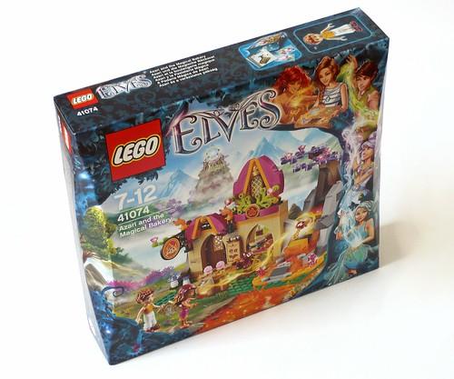 LEGO Elves 41074 Azari and the Magical Bakery box01