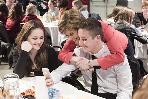 First Minister attends Youth Summit