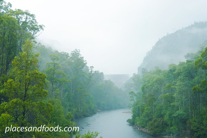 tasmania misty dam