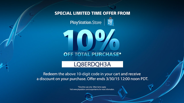 PlayStation Store promo codes Select one of the active PlayStation Store coupon or promotion from the offers list at increases-past.ml, and then apply it to your PlayStation Store order at the payment process to cut a big portion cost off the bill. It's a very simple buy exciting process.