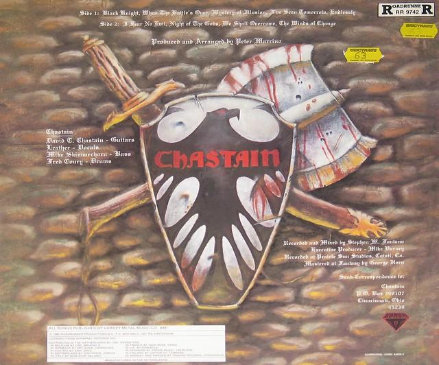 "Chastain Mystery of Illusion 12"" Vinyl LP"