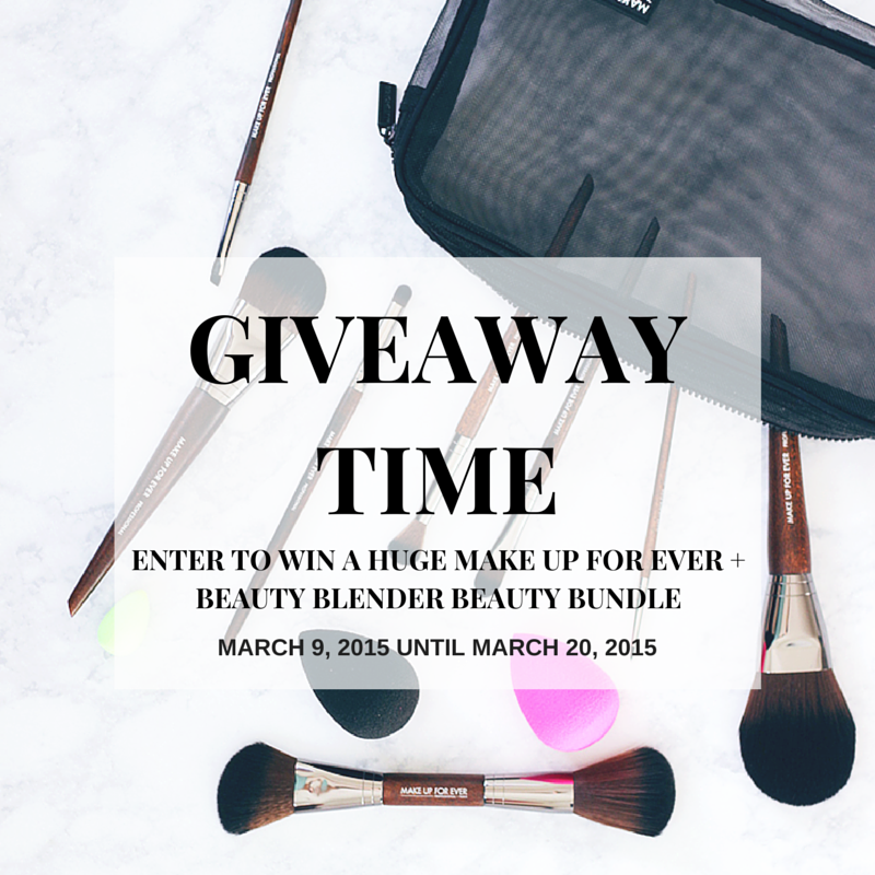MAKE UP FOR EVER GIVEAWAY, Beauty  Blender Giveaway