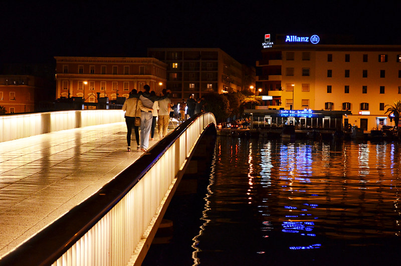 Bridge to the old town, Zadar, Croatia