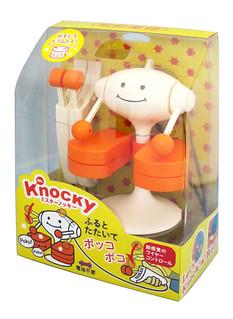 明和電機【療癒小鼓手 克諾克先生】Mr.Knocky 怎麼打都上手!!