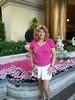 Susan at the Bellagio