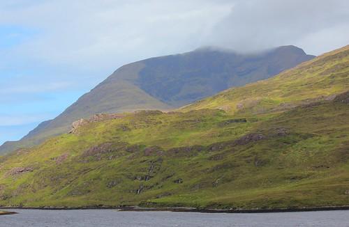 morning ireland mountains grass clouds spring rocks may countymayo fjords connacht coasts moorland connaught mweelrea killaryharbour inlets maigheo sunandcloud mweelreamountains ancaoláirerua cnocmaolréidh maolréidh contaemhaigheo