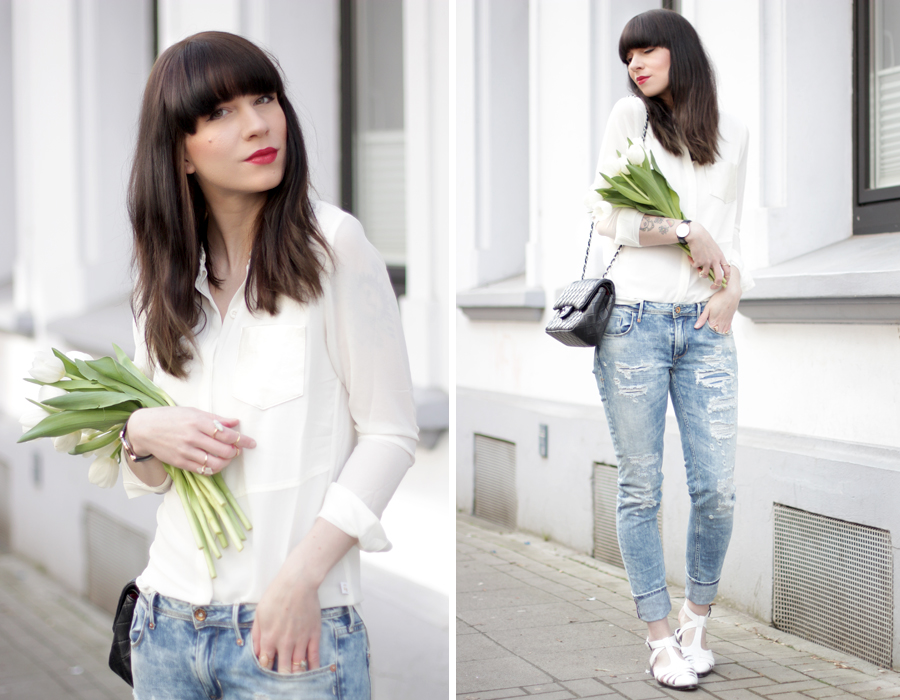 Les Temps des Cerises outfit styling jeans ripped blue spring styling fashionblogger outfitblogger ricarda schernus blog cats & dogs germany berlin hannover 4