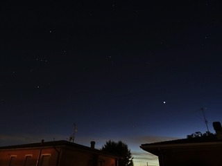 Orion and Venus