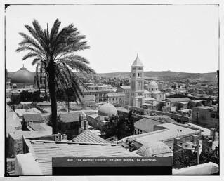 Jerusalem German Church 1898-1914