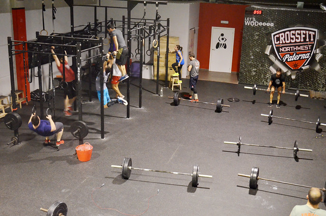 wod 15.5 crossfit games open thrusters row  fitsters