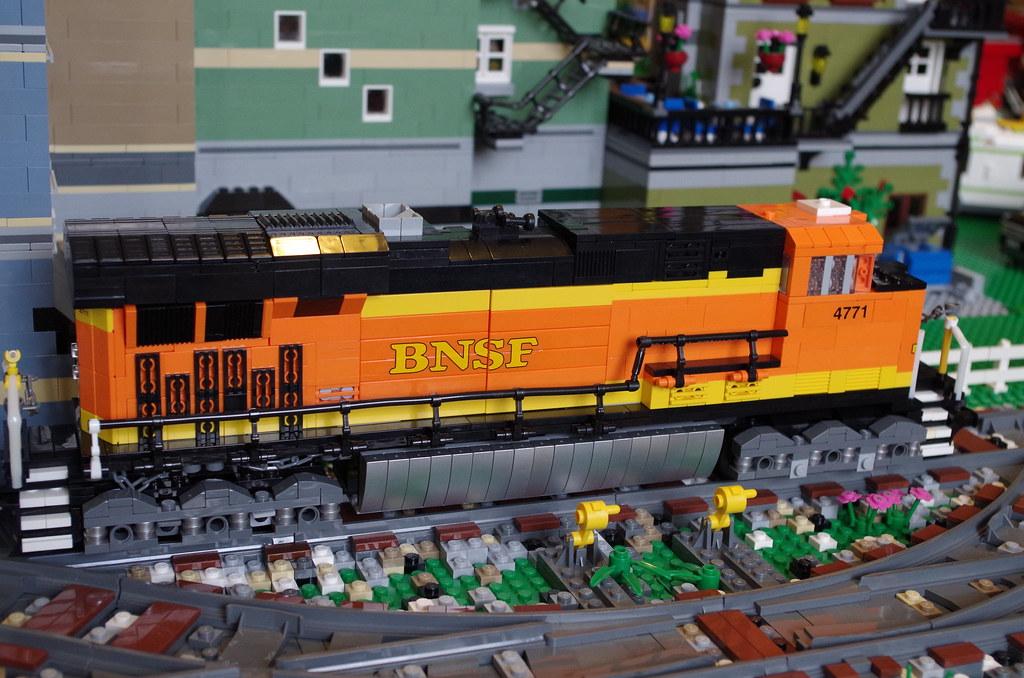 BNSF Evo ES44DC