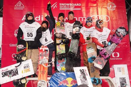Audi Snowjam 2015  - Světový pohár ve snowboardingu ve Špindlerově Mlýně