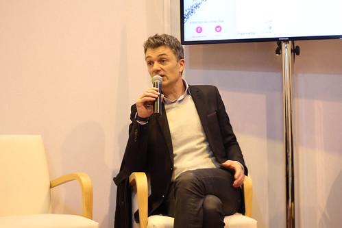 Nicolas Lebedel (izneo) - Salon du Livre de Paris 2015