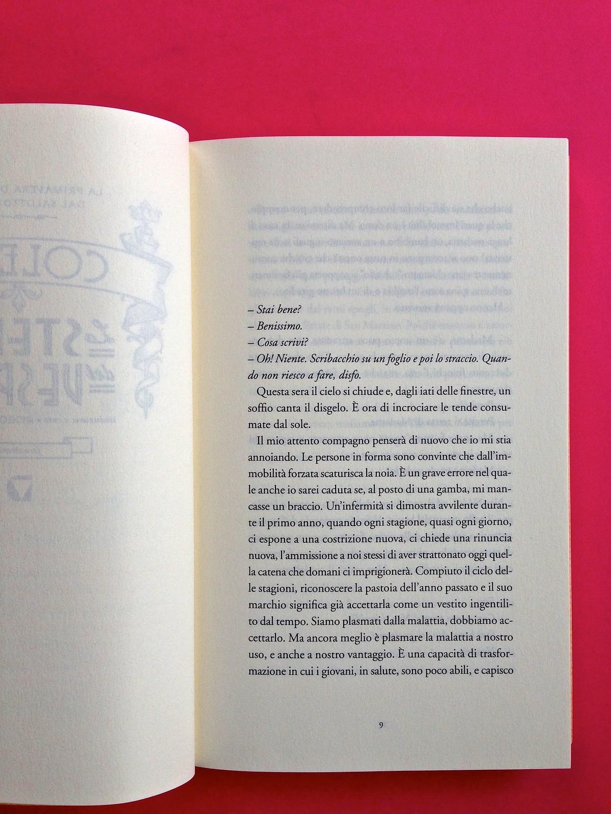 La stella del vespro, di Colette. Del Vecchio Editore 2015. Art direction, cover, illustrazioni, logo design: IFIX | Maurizio Ceccato. Verso di pag. 7 e incipit, a pag. 8 (part.), 1