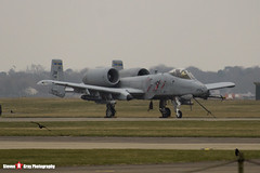 81-0992 DM - A10-0687 - USAF - Fairchild A-10C Thunderbolt II - Lakenheath, Suffolk - 150319 - Steven Gray - IMG_5446