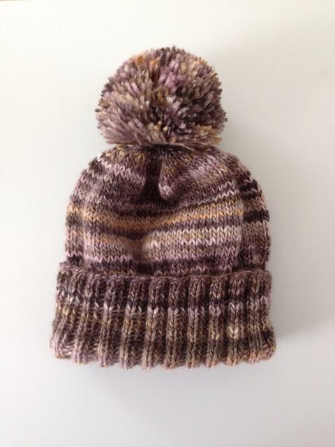 Handspun PomPom Hat