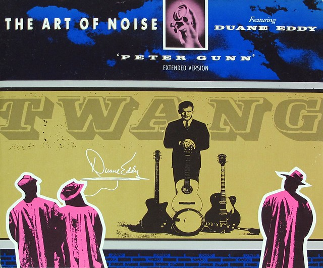 "ART OF NOISE FEAT DUANE EDDY - PETER GUNN EXTENDED VERSION 12"" MAXI-SINGLE VINYL"