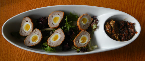 Scotch Eggs at Six Mile Pub