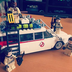 So, this happened today. #Lego #Ghostbusters