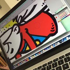 Colouring in... #Fife #YoungCarers #ComicStrip @hub8Fife #ub8Fife