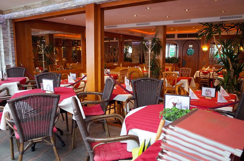 餐廳內部座位