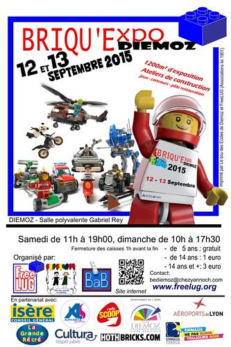 [Expo] Briqu'Expo Diémoz 12 & 13 sept 2015 - Invitation 16938245641_be3dffbe06