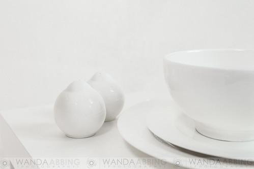 Something white