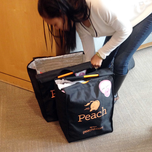 Peach Delivery