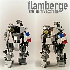 "T.A.H. MK LI ""Flamberge"" Anti Infantry Exoframe"