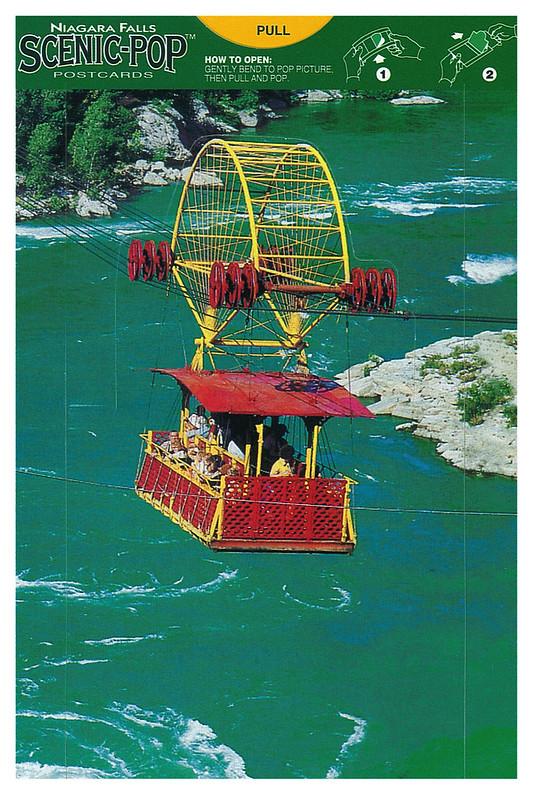 Canada - Niagara Falls - Scenic-pop - over whirlpool
