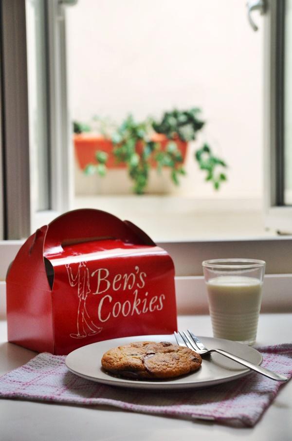 Ben Cookies by the Window
