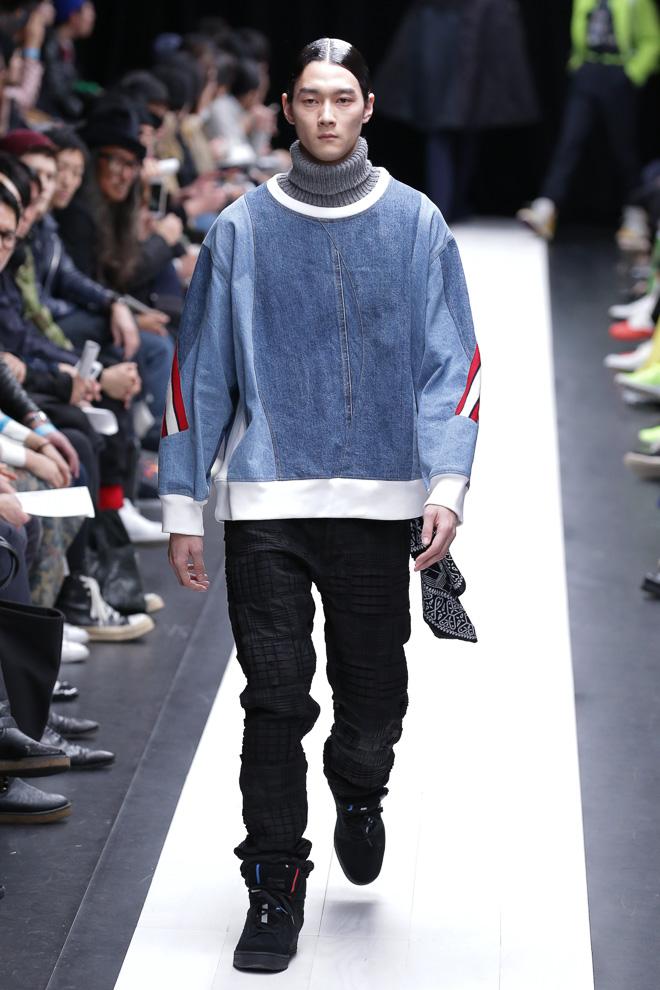 FW15 Tokyo FACETASM107(fashionsnap.com)