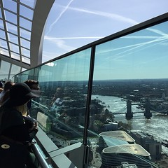 Sky Garden - quite a view. and free.