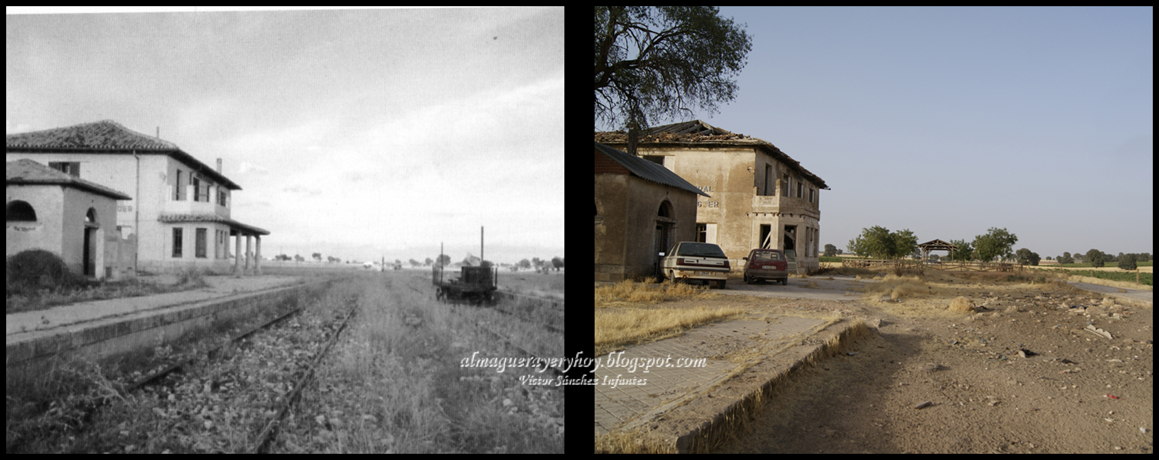 Estación de tren. Años 80 - 2012