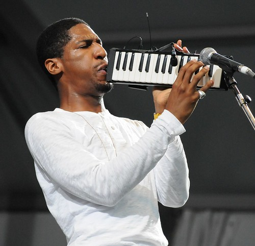 Jon Batiste at Jazz Fest