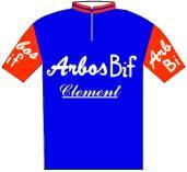 Arbos - Bif - Giro d'Italia 1956
