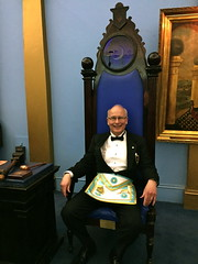 2016 Installation of W.Bro. Rod McBey at University Lodge No. 496